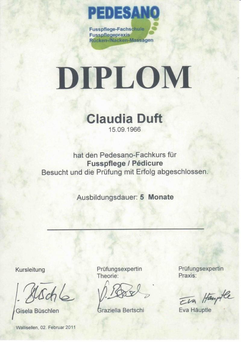Claudias Fusspflegepraxis » Claudia Binggeli